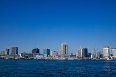 Widok Tokio zatoka, Japonia Zdjęcie Stock