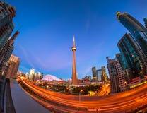 Widok Toronto śródmieście zdjęcie stock