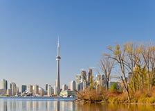 Widok Toronto pejzaż miejski Kanada Zdjęcia Stock