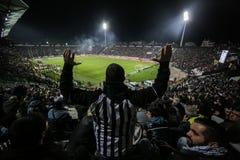 Widok Toumba stadium Obrazy Royalty Free