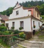 Widok tradycyjny wioska dom zdjęcie royalty free