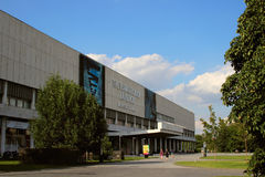 Widok Tretyakov galerii budynek na Krymskim dyszlu obrazy royalty free