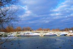 Widok Tsaritsyno park w Moskwa Obraz Stock