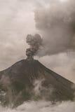 Widok Tungurahua wulkanu wybuch Obrazy Stock