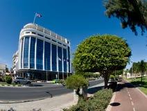 Widok ulica, Limassol, Cypr zdjęcia stock