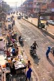 Widok ulica w Agra, Uttar Pradesh, India Obraz Royalty Free