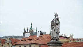 Widok ulica w starym centrum Praga zbiory