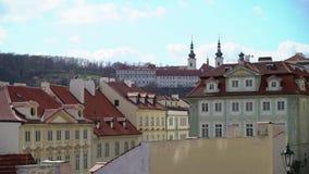 Widok ulica w starym centrum Praga zbiory wideo