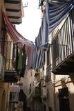 Widok ulicy Cefalu zdjęcia royalty free