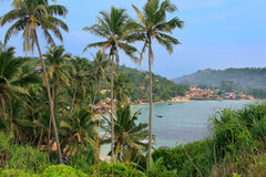 Widok Unawatuna, Sri Lanka Fotografia Royalty Free
