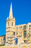 Widok Valletta oldtown Obrazy Royalty Free