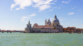 Widok Venezia od Uroczystego kanału Obraz Stock