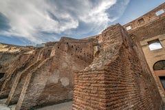 Widok wśrodku Colosseum, Rzym, Włochy Fotografia Royalty Free