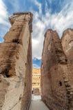 Widok wśrodku Colosseum, Rzym, Włochy Obrazy Royalty Free