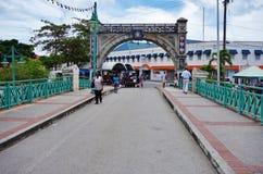 Widok w centrum Bridgetown miasto w Barbados, kapitałowy i wielki Zdjęcie Royalty Free