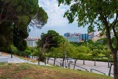 Widok w centrum Lisbon Zdjęcie Stock