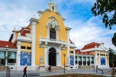 Widok w centrum Lisbon Obraz Royalty Free