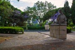 Widok w centrum Lisbon Zdjęcia Royalty Free