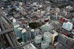 Widok w centrum Toronto od CN wierza Fotografia Royalty Free