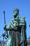 Widok w dziejowym miasteczku Bamberg, Niemcy zdjęcia royalty free