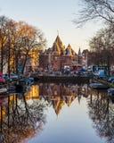 Widok w kierunku Waag Obraz Royalty Free