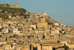widok włoska stara wioska Obrazy Royalty Free