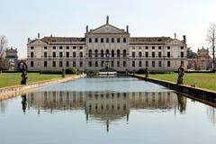 Widok włoski natinal muzeum willa Pisani Zdjęcia Royalty Free