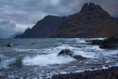 Widok w Tenerife Fotografia Royalty Free