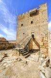 Średniowieczny kasztel Kolossi, Limassol, Cypr fotografia stock