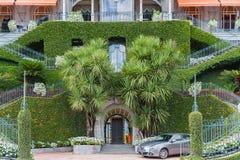 Widok wejście hotel na Jeziornym Como Zdjęcie Royalty Free