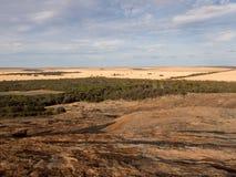 Widok Wheatbelt blisko Hyden, zachodnia australia Obraz Stock