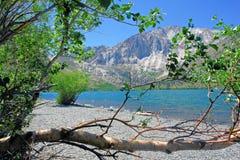Widok Więzień jezioro Obraz Royalty Free