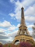 Widok Wieża Eifla w Paryż Zdjęcia Stock