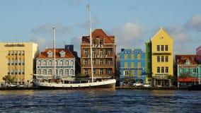 Widok Willemstad, Curacao zdjęcia stock