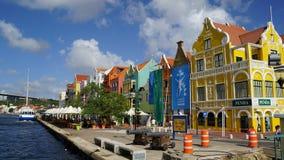 Widok Willemstad, Curacao zdjęcia royalty free