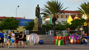 Widok Willemstad, Curacao fotografia royalty free