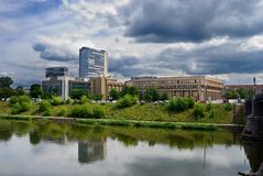 widok Wilna miasta Fotografia Royalty Free