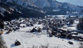 Widok wioska Iść Zdjęcie Royalty Free