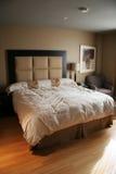 widok wnętrzności sypialni Zdjęcia Stock