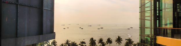Widok wokoło przy Pattaya Zdjęcie Stock