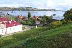 Widok wyspa Zdjęcia Royalty Free