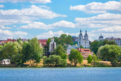 Widok wyspa łzy w Minsk Fotografia Stock