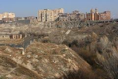 widok Yerevan Zdjęcia Stock