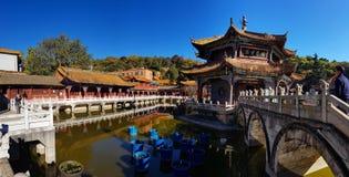 Widok Yuantong Buddyjska świątynia w Kunming, Yunnan, Chiny zdjęcie royalty free