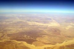widok z lotu ptaka obraz stock