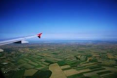 Widok z lotu ptaka Fotografia Royalty Free