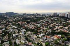 Widok z lotu ptaka alphaville Zdjęcie Stock