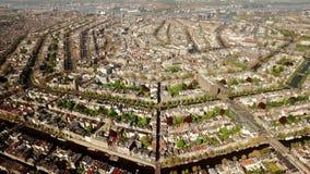 Widok z lotu ptaka Amsterdam zdjęcie wideo
