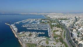 Widok z lotu ptaka Ateny w Grecja zdjęcie wideo