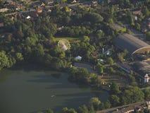 Widok z lotu ptaka belga park obraz royalty free